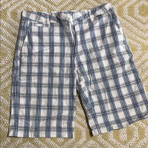 Hurley shorts blue and white